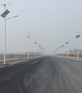 Street And Area Lights - Streetlighting Programe of Equipment Park, Inner Mongolia, China, 2015
