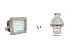 Led explosion proof lighting VS traditional industrial lighting