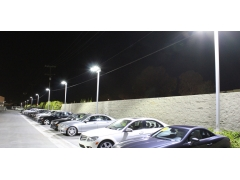Benefits and Performance of Galaxy Area Light for Parking Lot