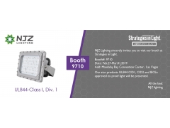 New UL C1D1, C1D2 and IECEx approved ex proof light will be presented at SIL 2019, Las Vegas