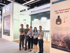 NJZ explosion proof light products gained so much attention during Hong Kong Lighting Fair (Spring Ed