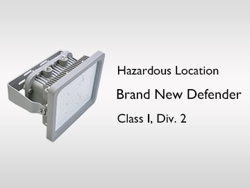 New Defender Series UL C1D2 for hazardous locations