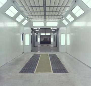Paint Booth Led Lighting Fixtures Njz Lighting