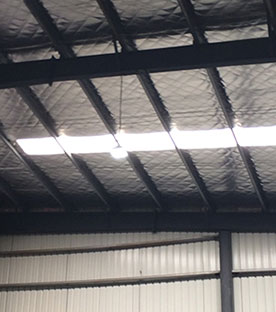 LED High Bay Lights - Workshop lighting project, Yichun, China, 2015