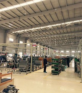 LED High Bay Lights - Auto parts Workshop lighting project, China, 2015