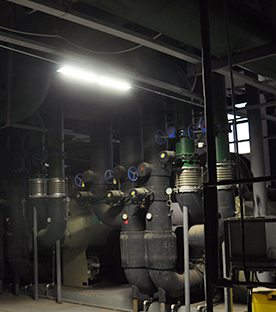 Explosion Proof Lights - Refinery, Chicago, USA, 2017
