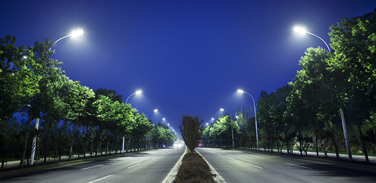 Nanjing Xixia District Xixia road lighting project