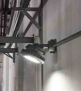 Explosion Proof Lights - Warehouse, Mexico, 2017