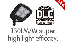 130lm/W High Light Efficacy Smart Area Light will be launched in August
