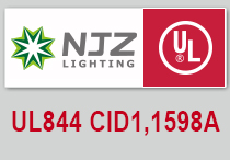 NJZ Lighting Will Launch New EX Proof Light With UL844 Approved